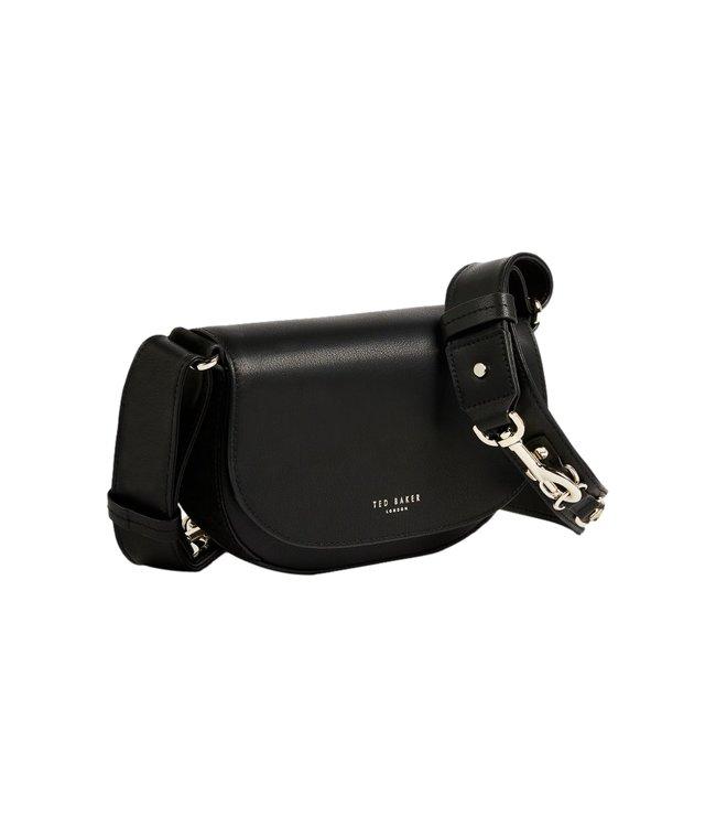 Ted Baker Equenia Sleek Equestrian Mini Crossbody Black
