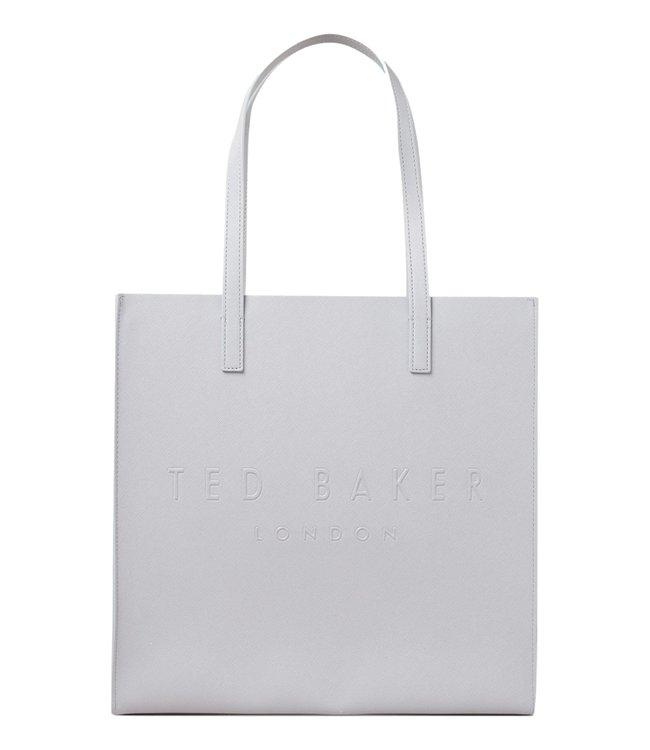 Ted Baker Soocon Large Icon Bag Light Grey