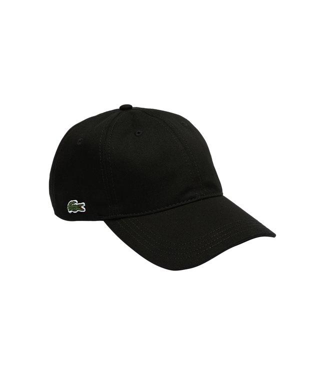 Lacoste Classic Cotton Cap Black