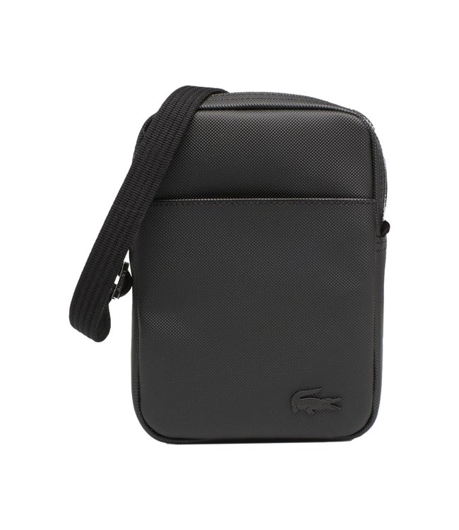 Lacoste Slim Vertical Camera Bag Noir Black