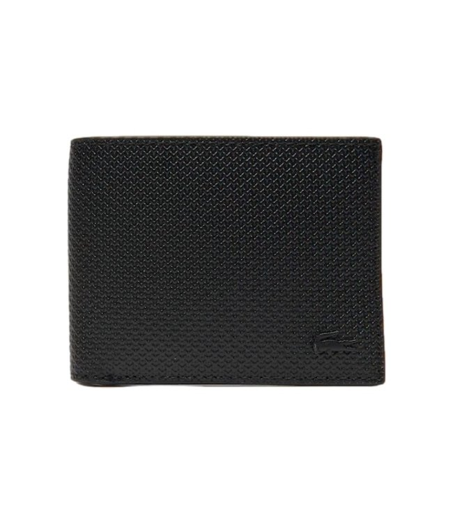 Lacoste Wallet Leather Black