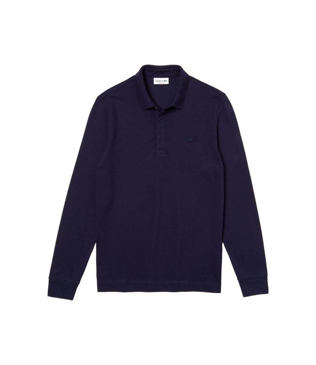 Lacoste Paris Polo Long Sleeve Regular Fit Navy Blue