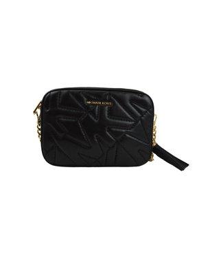 Michael Kors Jet Set Charm Medium Camera Bag Black