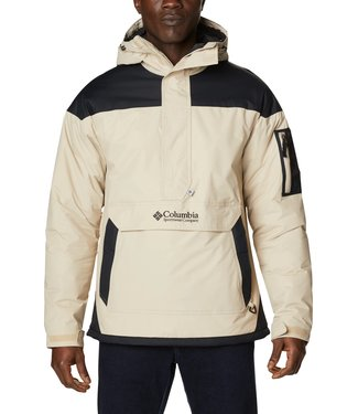 Columbia Challenger Insulated Anorak Ancient Fossil Black