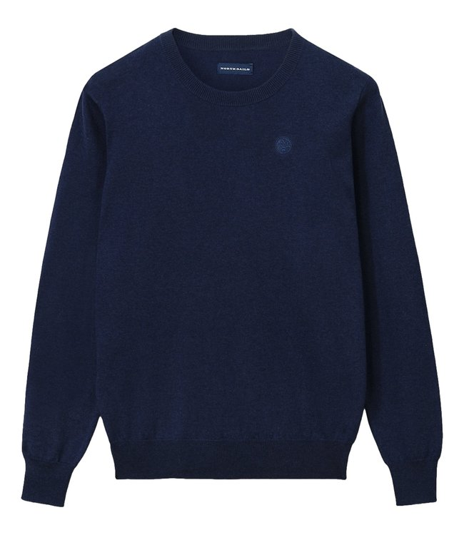 North Sails Cotton And Wool Jumper Navy Blue