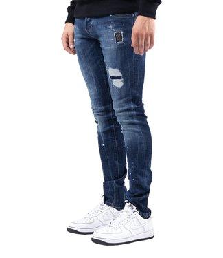 XPLCT Studios Sign Jeans Dark Blue