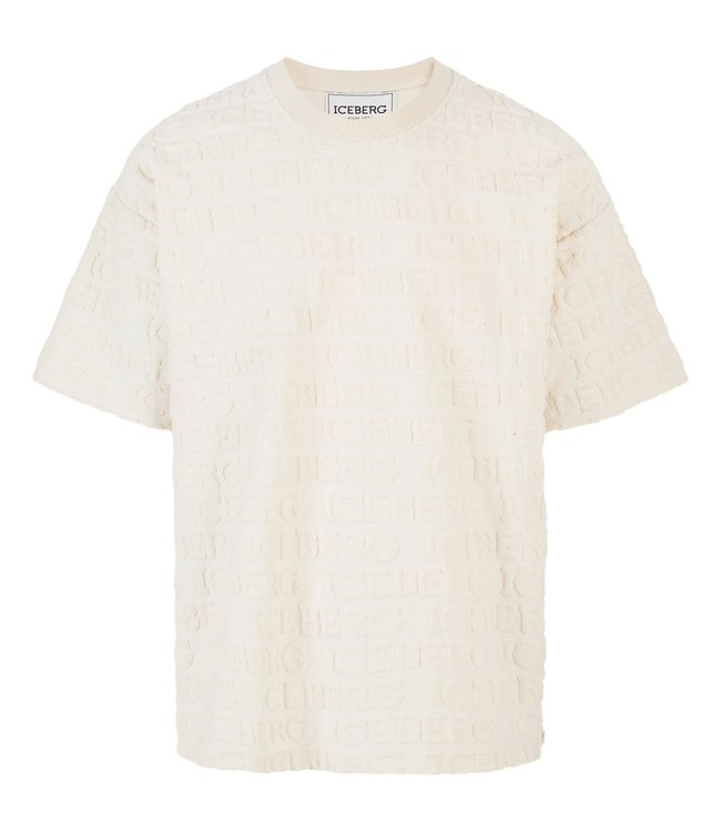 Iceberg T-shirt Terry White