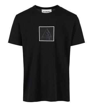 Iceberg T-shirt Square Black