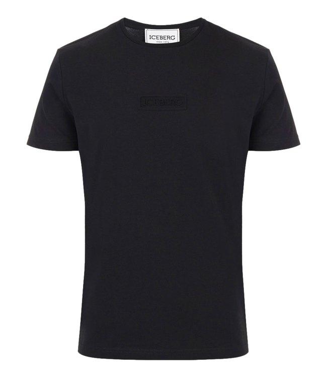 Iceberg T-shirt 3D Print Black