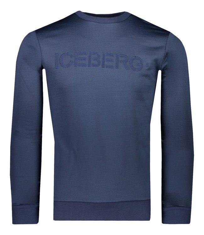 Iceberg Sweater Navy Blue