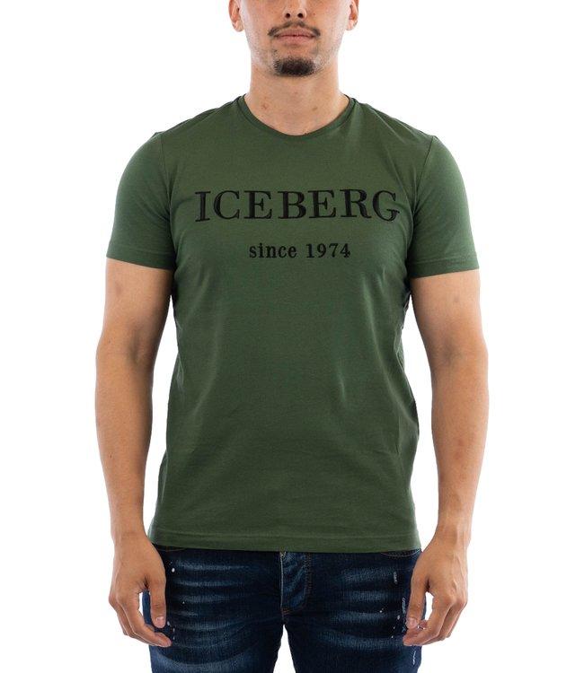 Iceberg T-shirt Militare Green