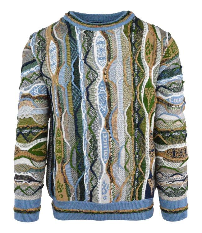 Carlo Colucci Knitwear Multicolour Green