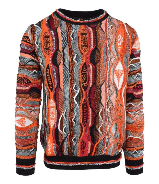 Carlo Colucci Knitwear Multicolour Red