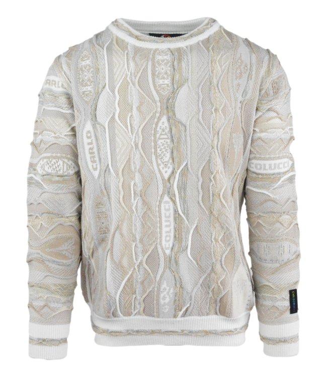 Carlo Colucci Knitwear Multicolour Beige