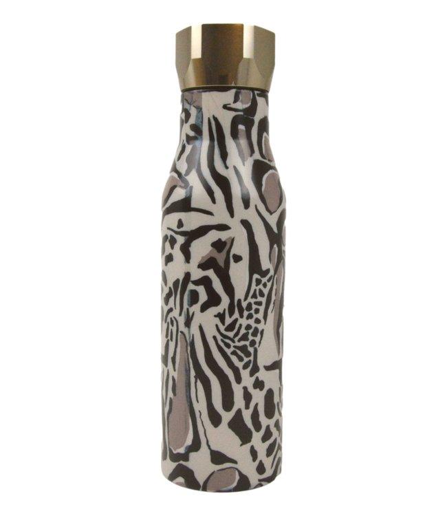 Ted Baker Botiga Giraffe Printed Water Bottle  Cream