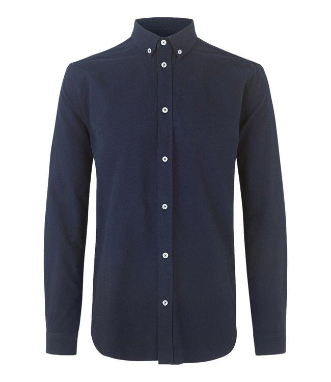 Samsøe Samsøe Liam Bx Shirt 11389 Night Sky