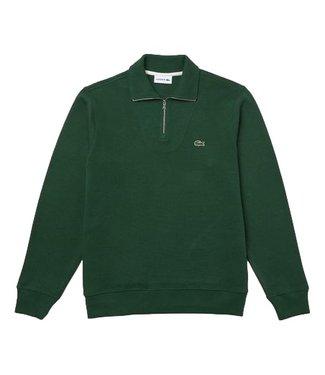 Lacoste Cotton Knitwear Zipper Sinople Green