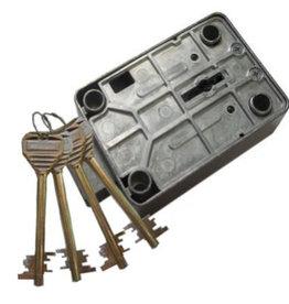 Zamek kluczowy - 4 klucze