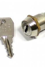 Zamek kluczowy Eurolock do skarbczyka w szafie na broń