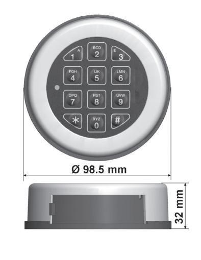Zamek elektroniczny AL3020