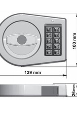 Zamek elektroniczny EK5025
