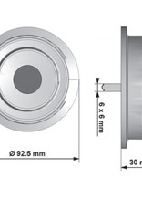 Zamek mechaniczny szyfrowy MD4890