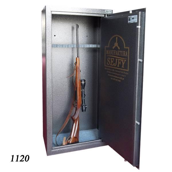 1120 Szafa na 8 sztuk broni długiej