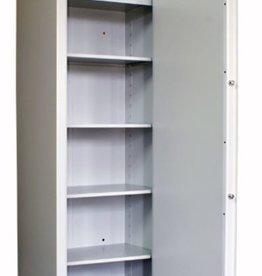 1405/S1 Szafa na broń krótką/amunicję/dokumenty - półki, skarbczyk