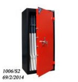 1006 Szafa na broń długą S2 - skarbczyk, półka