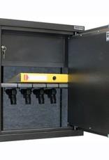 1024/S1 Szafa na broń krótką ze skarbczykiem - głębokość 35 cm
