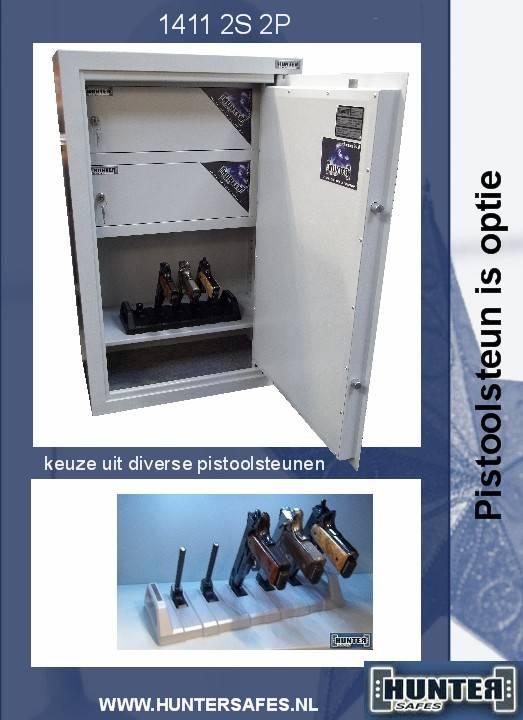 1411/S1 Szafa na broń krótką/amunicję - dwa skarbczyki