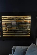 1696 Szafa na broń Pantzerglass - do zabudowy w ścianie