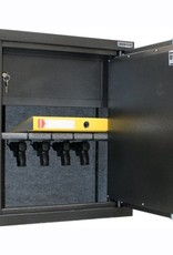 od ręki:  Szafa na broń krótką 1024/S1-LEWE DRZWI 35 CM.
