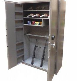 1729 Dwudrzwiowa szafa na broń długą i krótką