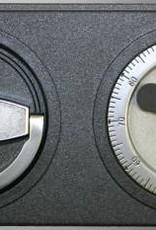 1001 Szafa na broń  długą S2 z dwoma skarbczykami