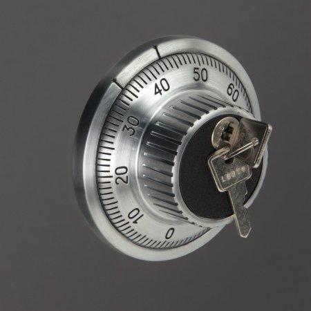 1102/S1 Szafa na broń krótką, dokumenty, amunicję - ze skarbczykiem i półkami - głębokość 35 cm