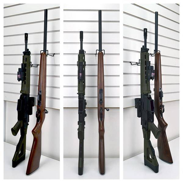 Vertical Gun Cradles - uchwyt do broni długiej