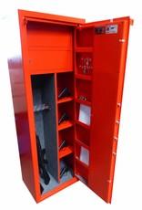 Drzwi DK. Dodatkowe półki w drzwiach szafy od wewnetrznej strony.