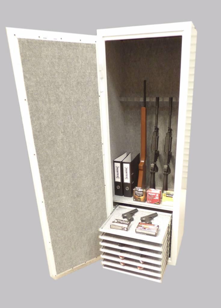 1747/S1 Szafa na brońoraz amunicję. 7 szuflad.
