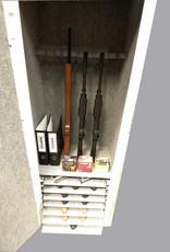 1747 Szafa na broń długą i krótką z siedmioma szufladami