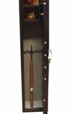 1005 Szafa na broń długą z dwoma skarbczykami
