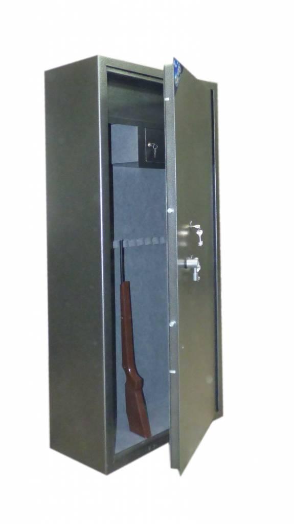 1401 Szafa na broń długą z 2 skarbczykami