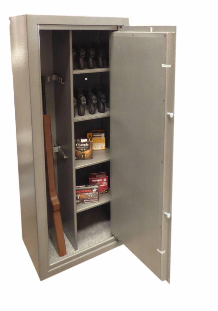 Szafa na broń długą  w klasie S1. Nowy model 1758 wyprodukowany dla urzędu celnego.