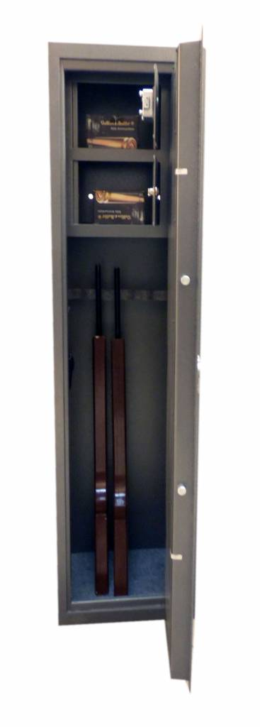 1089 Szafa na broń długą z dwoma skarbczykami