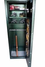 1748 Szafa na broń długą/amunicję - ze skarbczykiem i półką