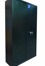 1591 Szafa na broń S1 - półki, podwójne drzwi