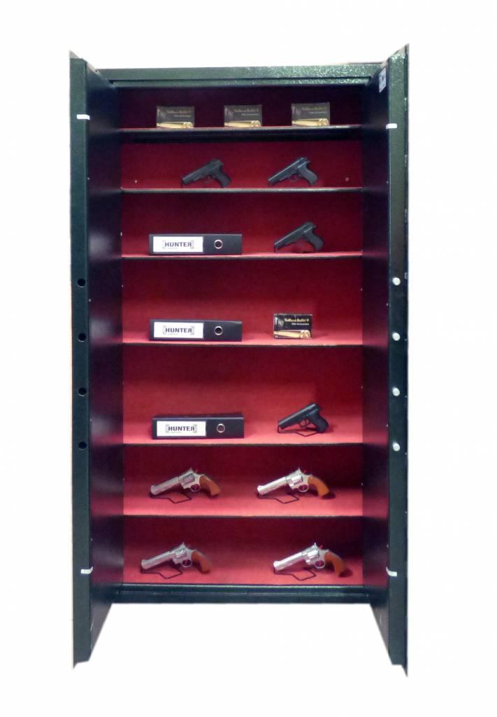 Szafa na broń 1591/S1 - podwójne drzwi.
