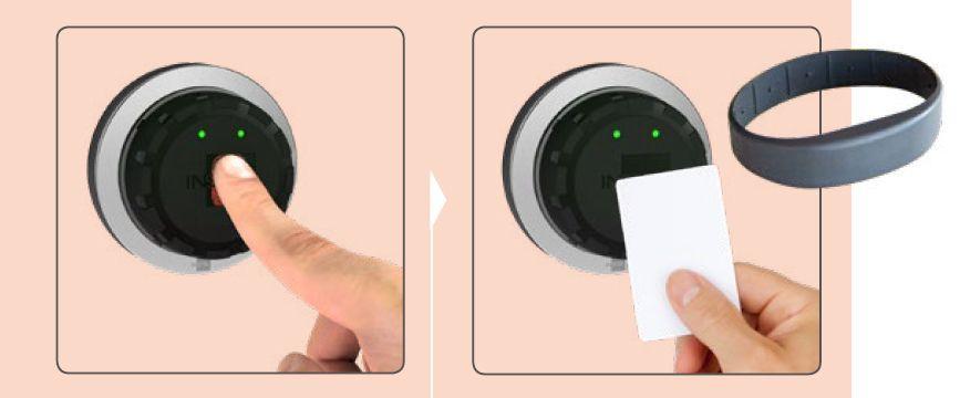 Zamek elektroniczny EloStar flex ID bez kodu PIN.