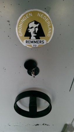 NL-Używana szafa na broń Remmers RS 105