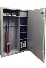 1753 Szafa na broń długą i krótką - półki, skarbczyk